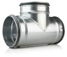 100 x 100 x 100 mm T-rør ventilation TCPL