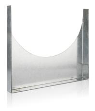 100 mm Montagebøjle ventilation FA