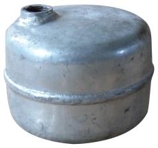 Luftpotte 1 liter galvaniseret