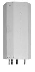 Metro 110 liter VVB uden kappe fjernvarme