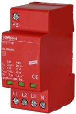 Transientbeskyttelse kompakt stærkstrøm DehnGuard TT 5 275,