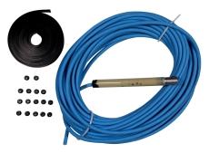 Færdigstøbt dykkabel 4X1,4mm2 med stik Inkl. kabelbindere, 8