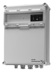 Grundfos LCD108 niveaustyring til niveauvipper 1-5 A, 2 pump