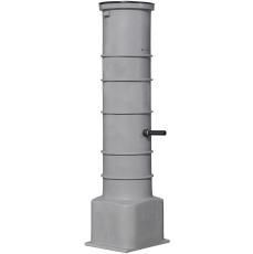 Grundfos 400 x 2000 x 50 mm PE-pumpebrønd t/gråt med AP35B50
