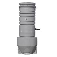 Grundfos 600 x 2500 x 50 mm PE-pumpebrønd t/gråt med AP35B50