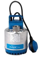 """Flygt pumpe SXM 2 med 1.1/4"""" muffe og 10 m kabel, 230 V"""