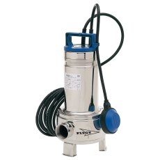 """Flygt pumpe DXM 35-5 med 1.1/2"""" muffe og 10 m kabel, 230 V"""