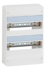 Gruppetavle Drivia 2x13 modul, hvid