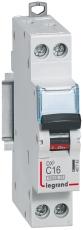 Automatsikring DX3 C 16A 1P+N, 1M, 6/10kA