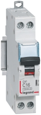 Automatsikring DX3 C 20A 1P+N, 1M, 6/10kA