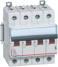 Automatsikring DX3 D 32A 4P, 4M, 6/10kA