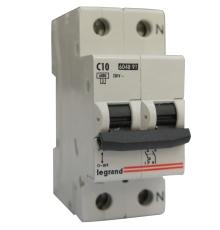 Automatsikring LR C 10A 1P+N 6kA