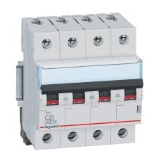 Automatsikring TX3 C 16A 4P, 4M, 6/6kA
