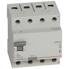 Fejlstrømsafbryder RX3 HPFI 40A 30mA, 4P, 4M, 10kA, type A