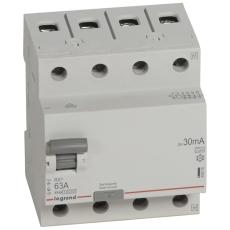 Fejlstrømsafbryder RX3 HPFI 63A 30mA, 4P, 4M, 10kA, type A
