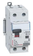Kombiafbryder DX3 Automatsikr/HPFI C 25A 30mA 1P+N 6/6kA Typ