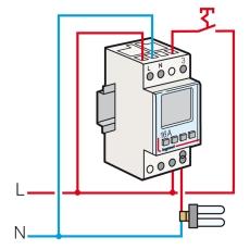 Kontaktur AstroRex3 D21 døgn/uge 1-kanal 230V