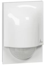 Pir-Sensor rækkevidde 8M, 140°, 230V, 77x48x114 mm, IP41