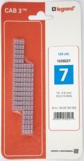 CAB3 Ledningsmærke 1,5-2,5 mm² mærket: 7 (P120)