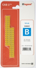 CAB3 LEDNINGSMRK1,5-2,5 (B)
