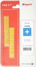 CAB3 Ledningsmærke 1,5-2,5 mm² mærket: + plus (P120)
