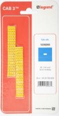 CAB3 Ledningsmærke 1,5-2,5 mm² mærket: - minus (P120)
