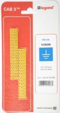 CAB3 Ledningsmærke 1,5-2,5 mm² mærket: jord (P120)