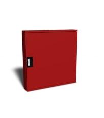 "Safeti brandskab T2 25 meter 1"" manuel RAL 3002 (rød) vendba"