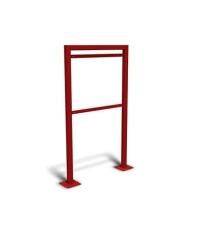 Safeti stativ T2/T3/T4 RAL 3002 (rød)