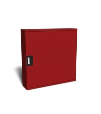 """Safeti brandskab T4 25 meter 3/4"""" manuel RAL 3002 (rød) vend"""