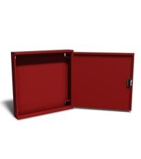 Safeti skab T4/T5 u/vinde RAL 3002 (rød)