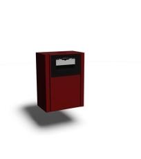 Safeti strålerørskasse T1/T1A RAL 3002 (rød)