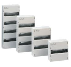 Gruppetavle 52 modul (4 x 13 modul) udvendig hvid IP30