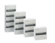 Gruppetavle 26 modul (2 x 13 modul) udvendig hvid IP30