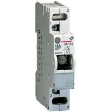 Afbryder 16A, 1 slutte, 240V med lys (tryk)