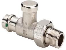 "15 mm x 1/2"" Profipress radiatorforskruning"