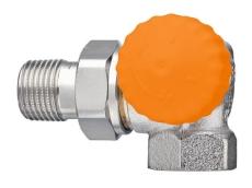 Eclipse DN10 Vinkel, sideløb H, dynamisk radiatorventil
