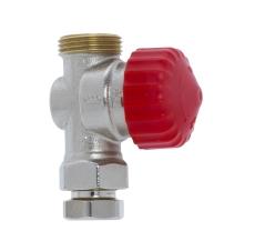 TRV-3 DN10 Lige radiatorventil for ventilsystem