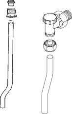 Gabotherm 12 mm stålrørsæt 76 mm
