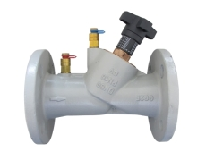Oventrop Hydrocontrol VFC DN25 flange, med målenipler
