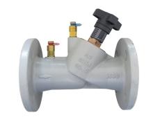 Oventrop Hydrocontrol VFC DN32 flange, med målenipler
