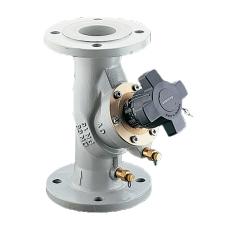 Oventrop Hydrocontrol VFC DN100 flange, med målenipler