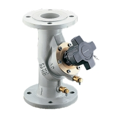 Oventrop Hydrocontrol VFC DN125 flange, med målenipler