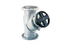 Oventrop Hydrocontrol VFC DN250 flange, med målenipler