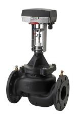 Optima DN65 PN16 HF P/T med actuator