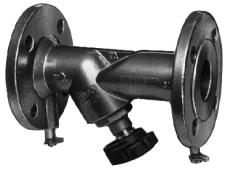 TA STAF DN200 strengregulerings ventil med flange