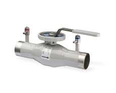 TA BVS 240 DN65/76,1mm rustfri strengregulerings ventil