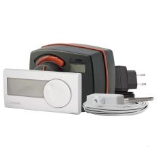 Esbe CRD122 styrenhed med vejr- og indendørs sensor 230v 6nm