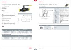 100 mm Ballomax ventil medium s/s