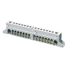 Klemmeblok For 12 Modul 3x25+10x10 mm2